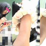 調査12.AKBなら神7間違いなしのスレンダー黒髪絶対美少女♪接写でPのバック・フロントを余すところなく調査!