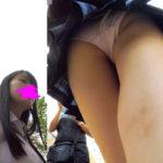 【HD顔出しJK016】芸能活動中!?カワイイJKに声かけして半ギレされる。それでもお尻にぴったりピンクPはばっちり。